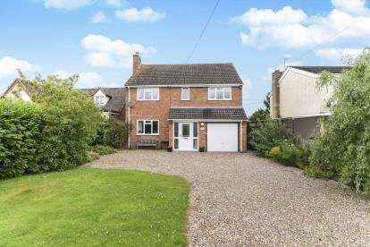 4 Bedrooms Detached House for sale in Shinehill Lane, South Littleton, Evesham, Worcestershire