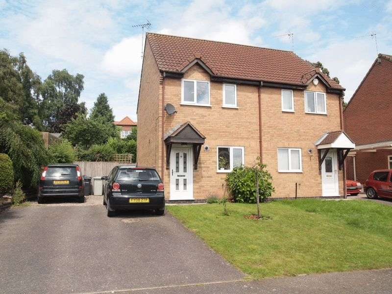 2 Bedrooms Semi Detached House for sale in Foxglove Close, Spilsby