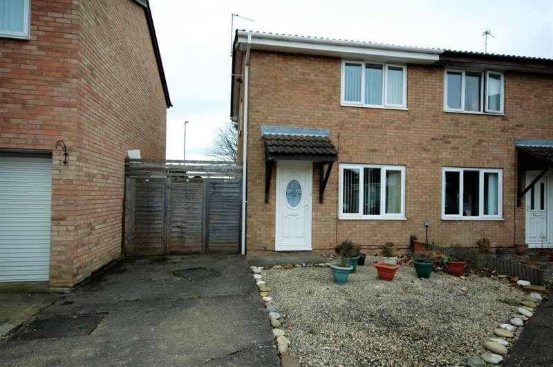 2 Bedrooms Semi Detached House for sale in Brackley, Washington, County Durham, NE37