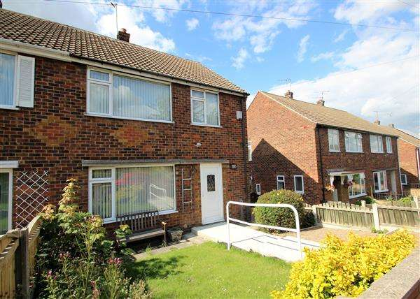 3 Bedrooms Semi Detached House for sale in Ashfield Road, Hemsworth