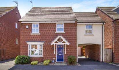 4 Bedrooms Detached House for sale in Danbury Place, Leicester
