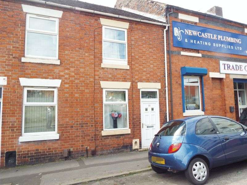 2 Bedrooms Terraced House for sale in North Street, Newcastle-under-Lyme, Staffordshire