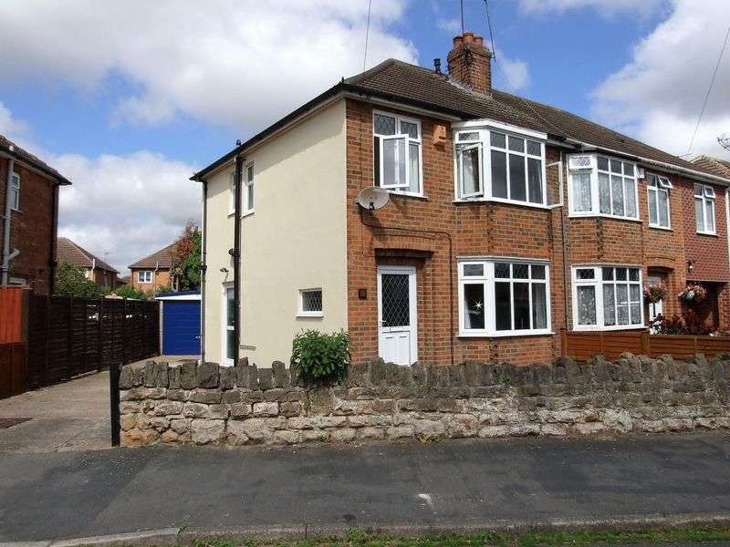 3 Bedrooms Semi Detached House for sale in KINGS AVENUE LOUGHBOROUGH
