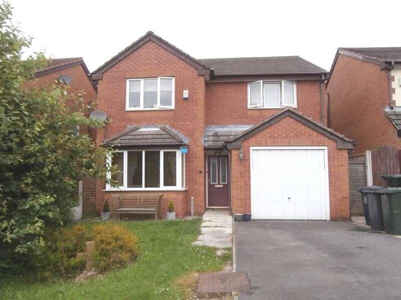 4 Bedrooms Detached House for sale in Edenhurst, Skelmersdale, WN8