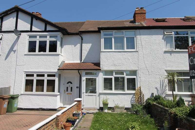 2 Bedrooms Terraced House for sale in Boscombe Road, Worcester Park