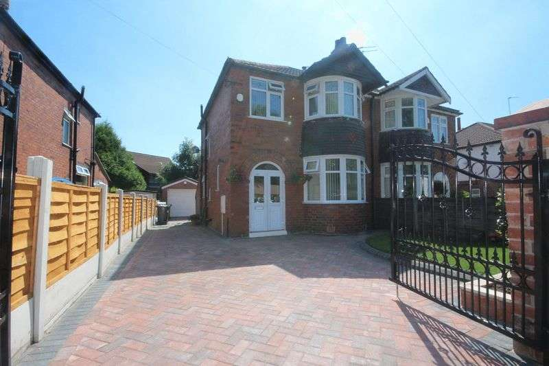 3 Bedrooms Semi Detached House for sale in Victoria Avenue, Blackley, Manchester M9 0NG