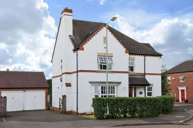 5 Bedrooms Detached House for sale in Ormonds Close, Darwin Park, Lichfield