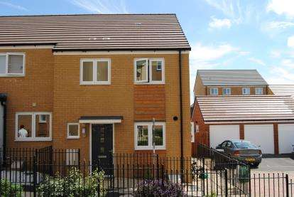3 Bedrooms Semi Detached House for sale in Gascoigns Way, Patchway, Bristol, Gloucestershire