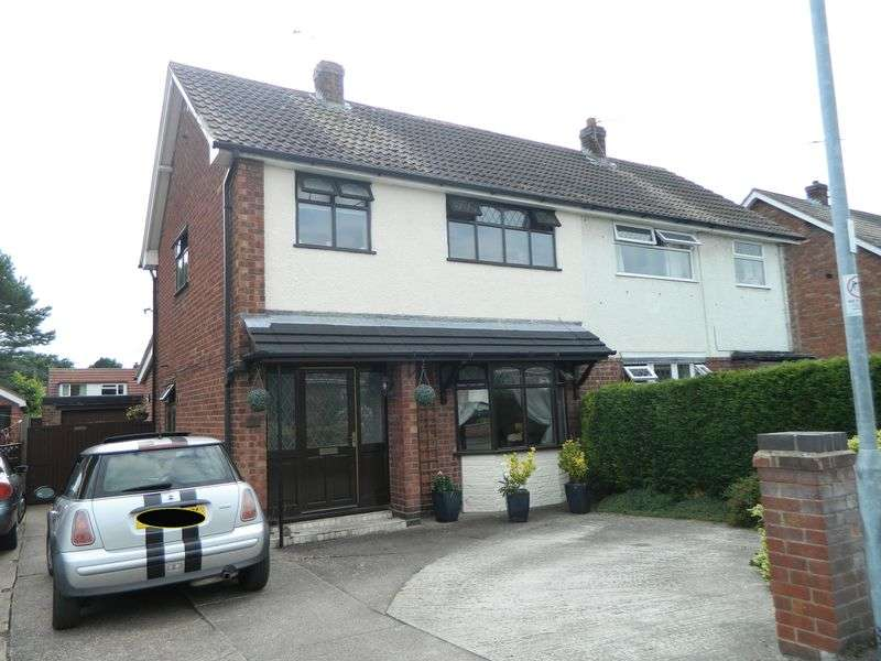 3 Bedrooms Semi Detached House for sale in Dukes Crescent, Sandbach