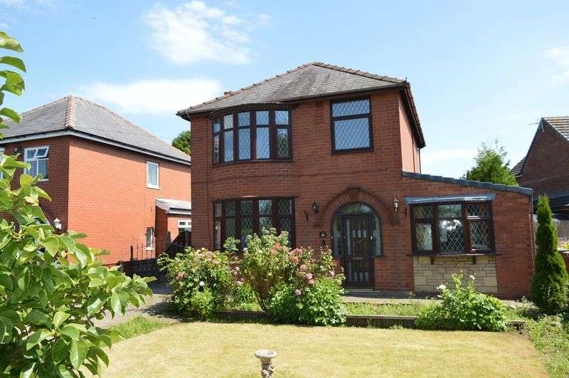 3 Bedrooms Detached House for sale in Newton Road, Lowton, WA3 1LA