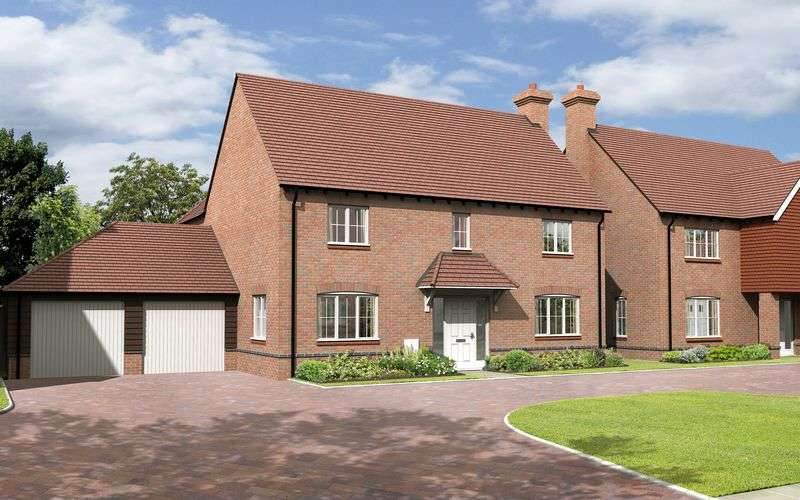 4 Bedrooms Detached House for sale in The Longford, Plot 8, The Portway , East Hendred
