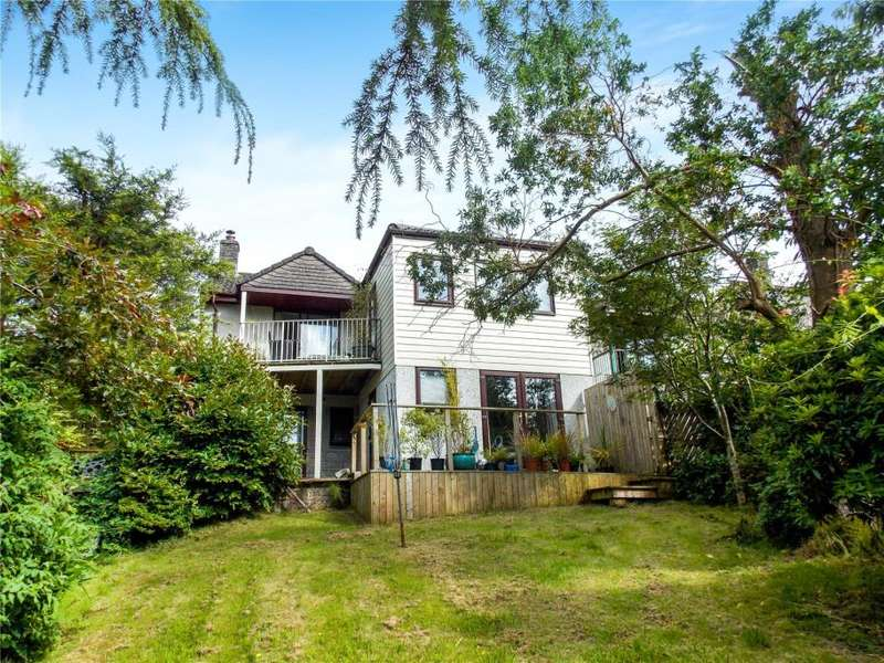 4 Bedrooms Detached House for sale in Oak Drive, Liskeard, Cornwall