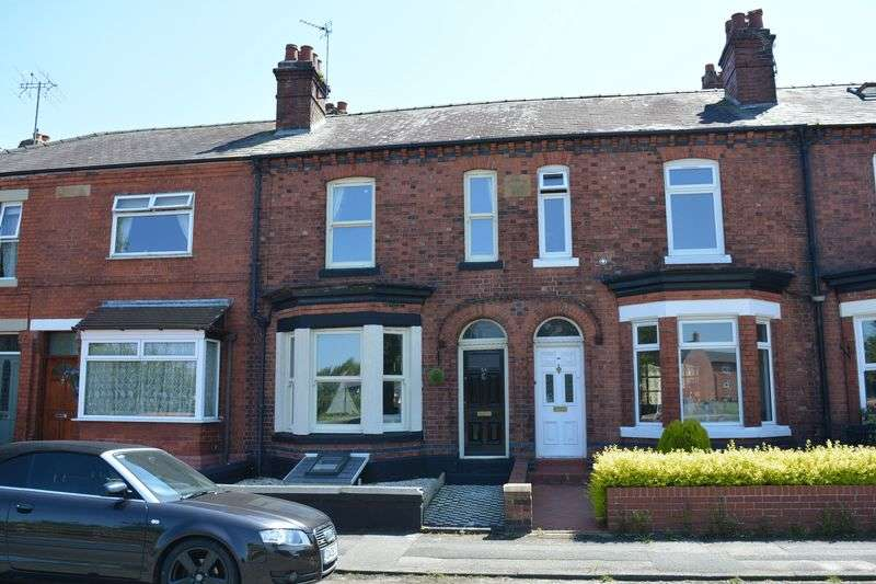 2 Bedrooms Terraced House for sale in Ellesmere Road, Stockton Heath, Warrington