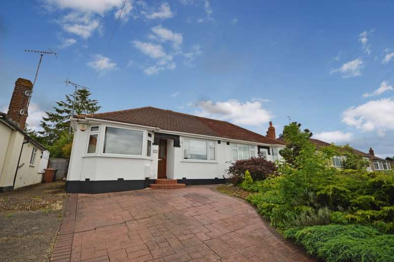 2 Bedrooms Semi Detached Bungalow for sale in The Courtway, Watford, WD19