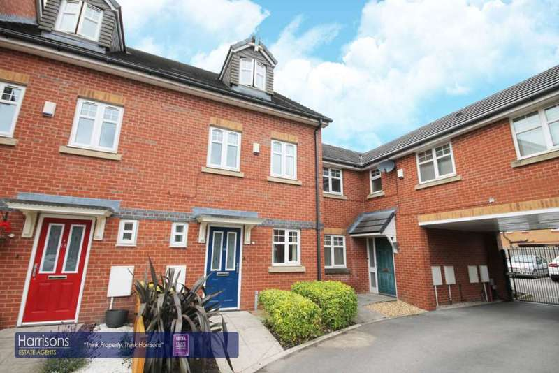 3 Bedrooms Town House for sale in Linnyshaw Close, Middle Hulton, Bolton, Lancashire.