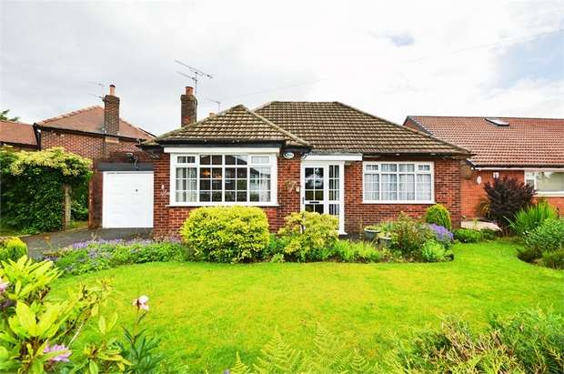 2 Bedrooms Detached Bungalow for sale in Hillingdon Road, Whitefield, MANCHESTER, Lancashire