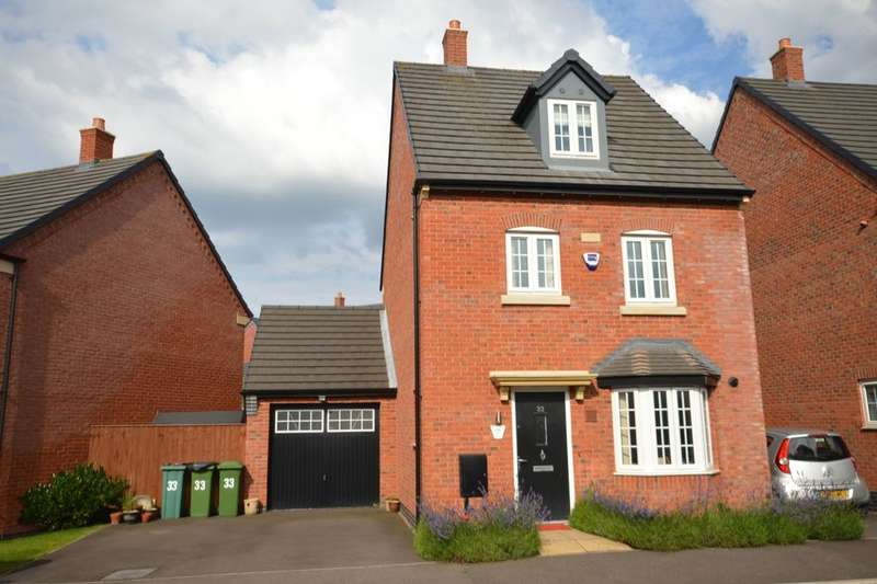 4 Bedrooms Detached House for sale in Ridleys Close, Countesthorpe, Leicester, LE8