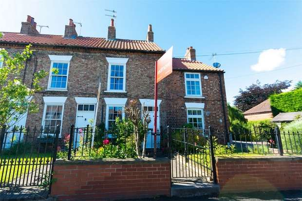 2 Bedrooms Terraced House for sale in Main Street, Stamford Bridge, York