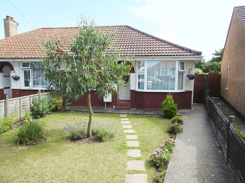 2 Bedrooms Semi Detached Bungalow for sale in Edgerton Road, Lowestoft