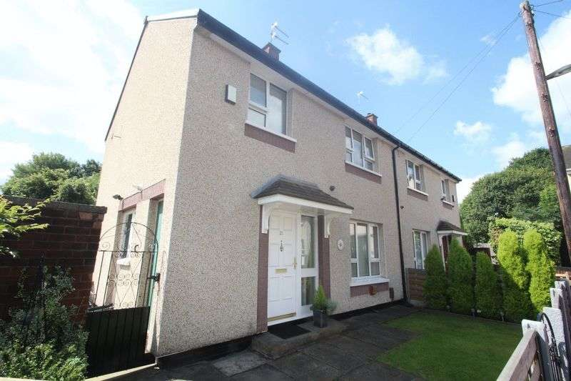 3 Bedrooms Semi Detached House for sale in Meadway, Marland, Rochdale OL11 3NP