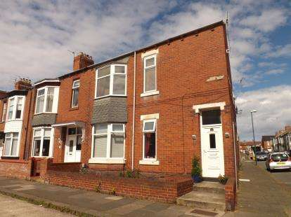 2 Bedrooms Flat for sale in Egerton Road, South Shields, Tyne and Wear, NE34
