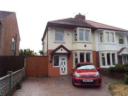 3 Bedrooms Semi Detached House for sale in Preston Road, Lytham St. Annes, Lancashire, FY8