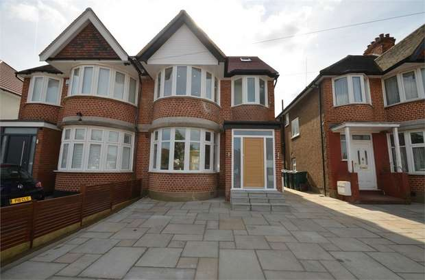 4 Bedrooms Semi Detached House for sale in Hale Drive, Mill Hill
