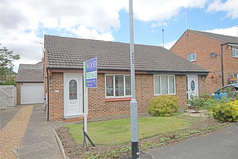 2 Bedrooms Semi Detached Bungalow for sale in Bellburn Lane, Darlington, County Durham, DL3