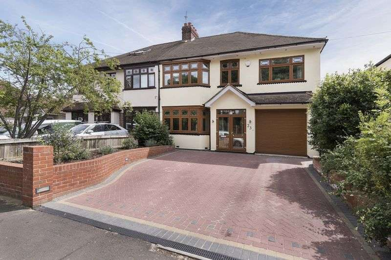 5 Bedrooms Semi Detached House for sale in Elmwood Drive, Bexley