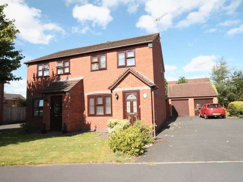 3 Bedrooms Semi Detached House for sale in Pezenas Drive, Market Drayton