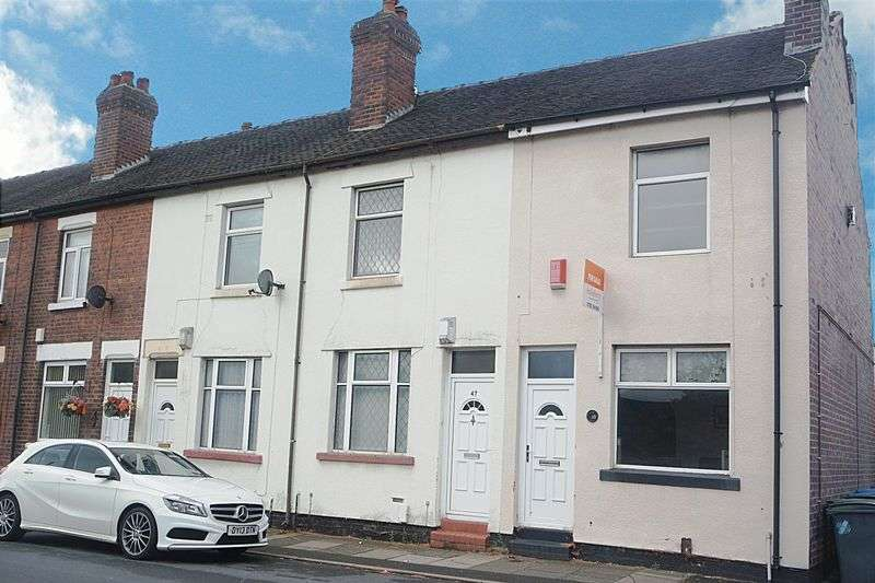 2 Bedrooms Terraced House for sale in Manor Street, Fenton, Stoke-On-Trent, ST4 2PT