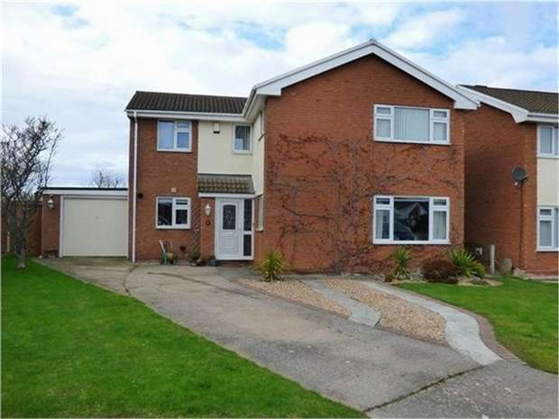 3 Bedrooms Detached House for sale in Heol Conwy, Abergele, Conwy