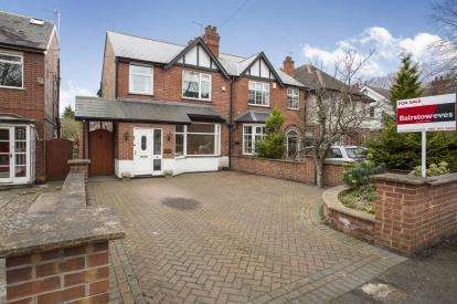 3 Bedrooms Semi Detached House for sale in Stoke Lane, Gedling, Nottingham, Nottinghamshire
