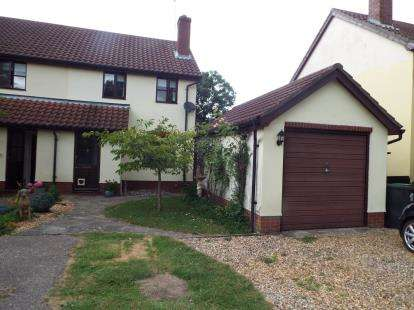 2 Bedrooms Semi Detached House for sale in Worlingworth, Woodbridge, Suffolk