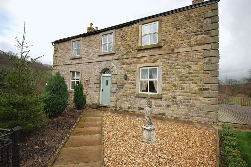 4 Bedrooms Detached House for sale in Bankwood, Charleworth, Glossop