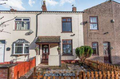 2 Bedrooms Terraced House for sale in Boydells Houses, Leigh Road, Hindley Green, Wigan, WN2