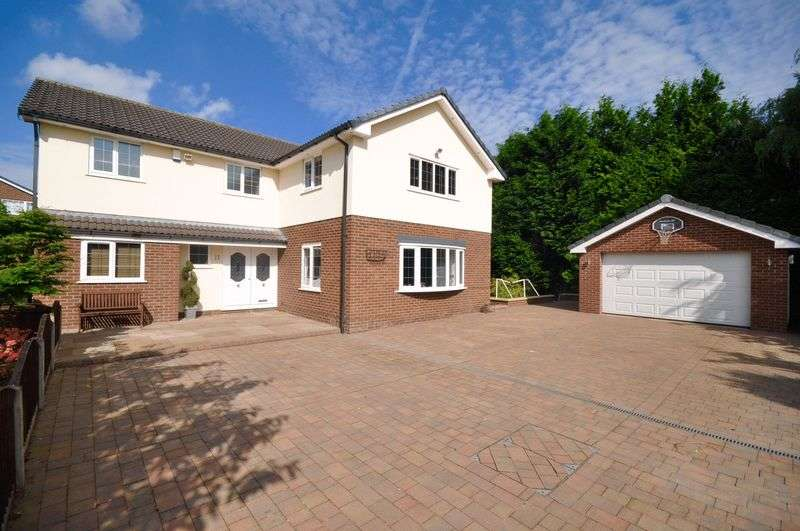 5 Bedrooms Detached House for sale in Muirfield Close, Heywood