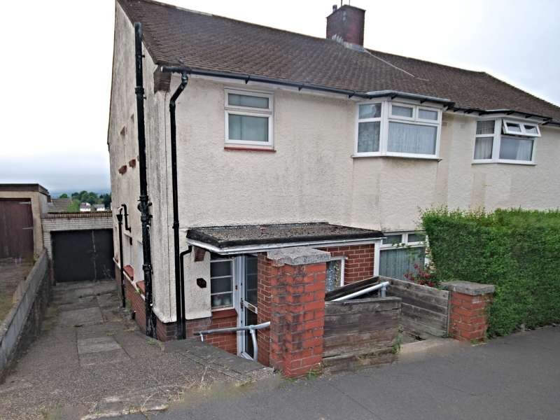 3 Bedrooms Semi Detached House for sale in Gaer Park Lane, Newport, South Wales. NP20 3NE