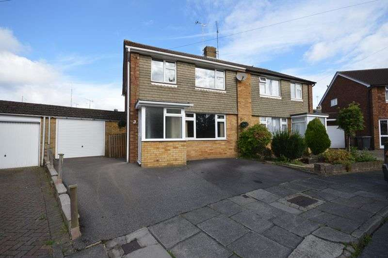 3 Bedrooms Semi Detached House for sale in Carsdale Close, Luton