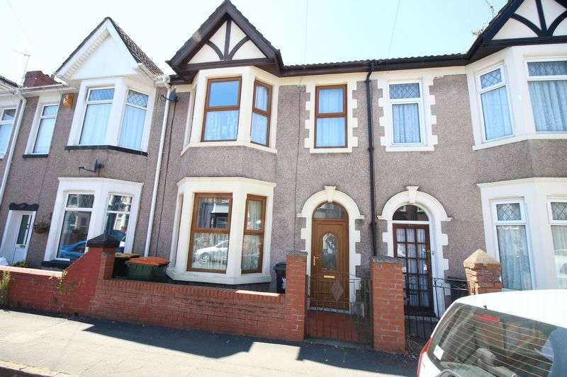 3 Bedrooms Terraced House for sale in Rosslyn Road, Off Chepstow Road, Newport
