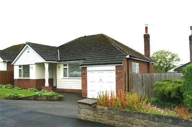 3 Bedrooms Detached Bungalow for sale in Mayfield Road, Marple Bridge, Stockport, Cheshire