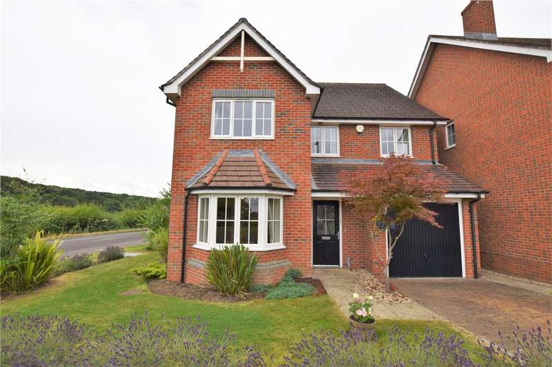 4 Bedrooms Detached House for sale in Saxon Gate, Burghfield, Reading, Berkshire, RG30