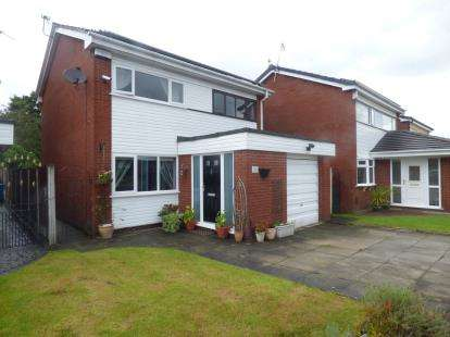 3 Bedrooms Detached House for sale in Anderson Close, Padgate, Warrington, Cheshire