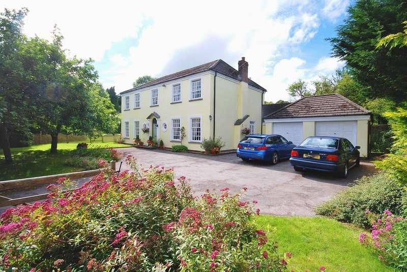 4 Bedrooms Detached House for sale in Bridge Road, Llanblethian, Cowbridge, Vale Of Glamorgan, CF71 7JG