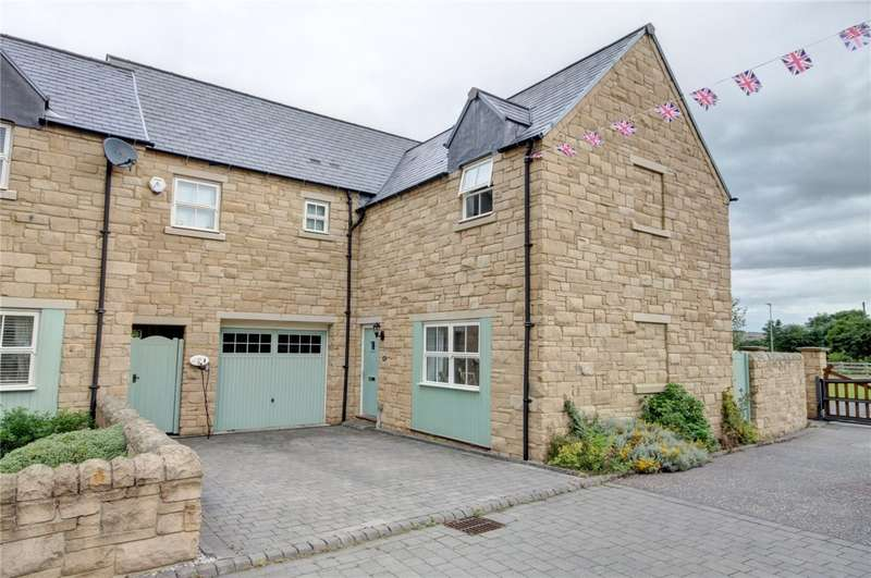 4 Bedrooms End Of Terrace House for sale in Witton Station Court, Langley Park, Durham, DH7