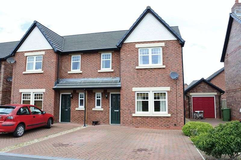 3 Bedrooms Semi Detached House for sale in Kirkland Road, Wigton