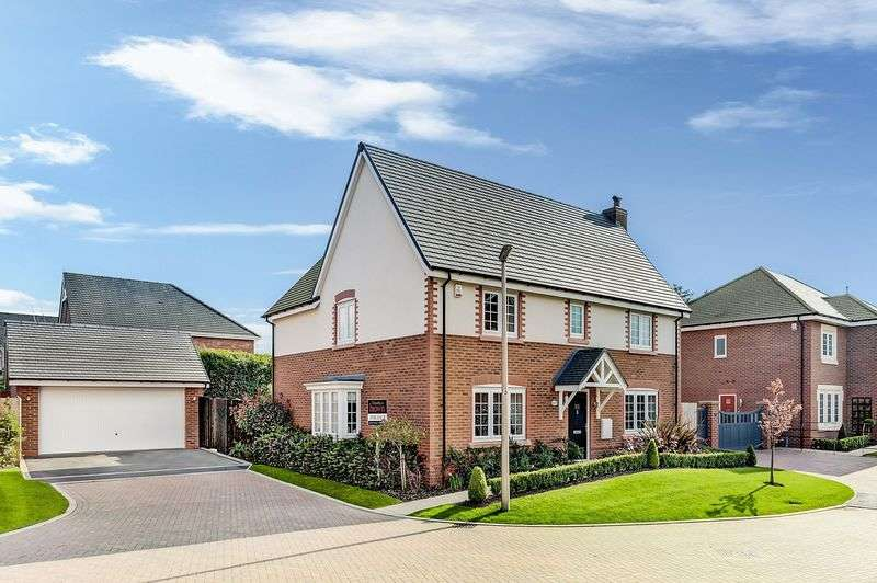 4 Bedrooms Detached House for sale in Shakerley Place, Somerford