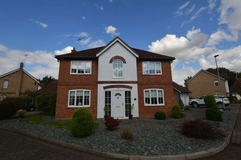 4 Bedrooms Detached House for sale in Borthwick Park, Peterborough