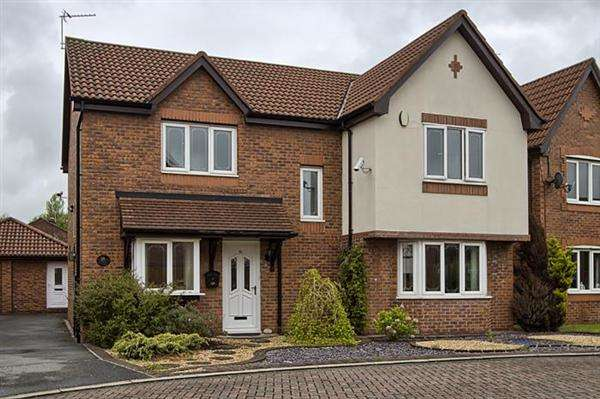 4 Bedrooms Detached House for sale in Bluebell Way, Bamber Bridge, Preston