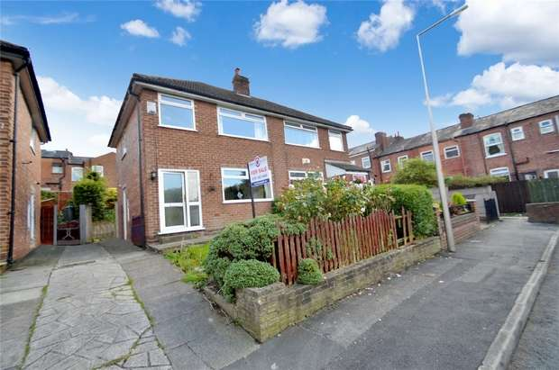 3 Bedrooms Semi Detached House for sale in Stream Terrace, Offerton, Stockport, Stockport, Cheshire